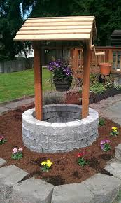 How To Drill A Water Well In Your Backyard Patios De Ensueño Front Yards Yards And Nice