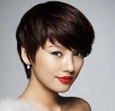 asian short hairstyles for round faces short hairstyle round face