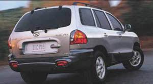 hyundai santa fe 2004 review 2004 hyundai santa fe specifications car specs auto123