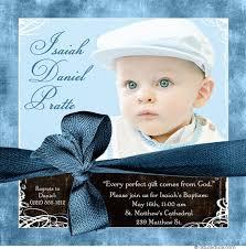 modern boy baptism invitation golden cross baby s