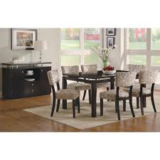 rectangular dining table with floating top