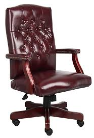 Modern Leather Office Chairs Contemporary Photo On Burgundy Leather Office Chair Executive 20