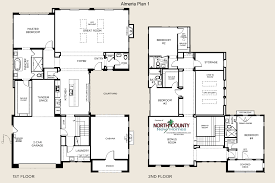 almeria floor plans new homes in pacific highlands ranch