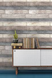 Wood Peel And Stick Wallpaper by Brewster Home Fashions Reclaimed Wood Plank Natural Peel U0026 Stick