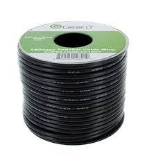 amazon com 14awg speaker wire gearit pro series 14 awg gauge