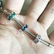 pandora silver clip bracelet images Authentic 925 sterling silver charm rose shining elegance clip jpg