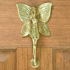 Brass Door Knobs Garden Fairy Door Knocker Hardware