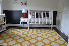 Rugs For Baby Bedroom Yellow U0026 White Rug Baby Room Pinterest Nursery Design