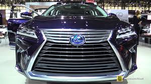 does new lexus rx model come out 2016 lexus rx450h hybrid exterior and interior walkaround