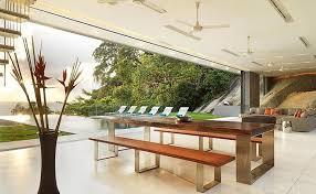 Majestic Thai Villa Overlooking The Ocean - Thai style interior design