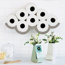 Bathroom Toilet Paper Storage Cloudy Day Toilet Paper Storage Toilet Paper Holder Bathroom