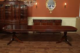 Dining Room Cool Mahogany Dining Table With Dark Brown Mahogany - Long dining room table