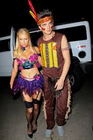 the best and worst celebrity halloween costumes paris hilton