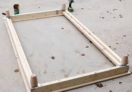 Build Platform Bed Diy Platform Bed
