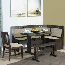 breakfast nook table with bench energy corner breakfast nook table dining set with storage and