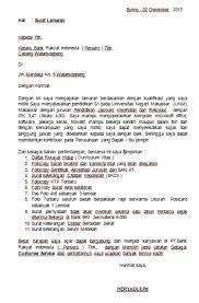 contoh surat pernyataan untuk melamar kerja contoh surat lamaran kerja untuk bank berbagi ilmu