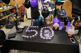 some steps for making the 40th birthday party decorations e2 80 94