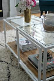 ikea hacks coffee table ikea restyle vittsjo hack restyle it wright