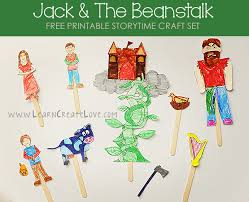 printable storytime craft jack and the beanstalk