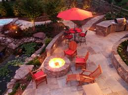 Patio With Firepit Outdoor Fireplaces Md Fire Pit Installation Montgomery County