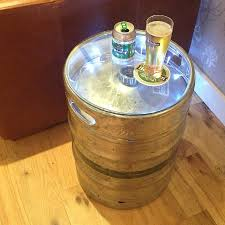 Buy A Keg Fresh Design Furniture Upcycled Silver Beer Keg Table Keg Table