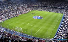 camp nou stadium barcelona hd background widescreen wallpapers