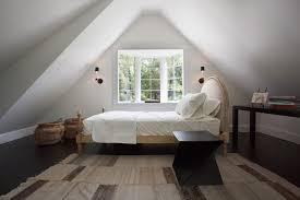 attic bedroom ideas bright attic bedroom ideas with glowing interior slanted ceiling