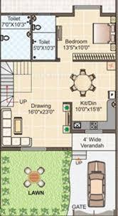 row house floor plan 2100 sq ft 4 bhk floor plan image gangwani constructions pvt ltd