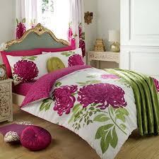 wholesale bulk kew cream fuchsia floral duvet cover wholesale