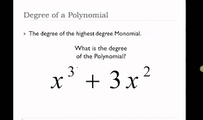 5 minute math degrees and leading coefficients of polynomials