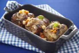 cuisiner des paupiettes de veau au four recette de paupiette de veau au coeur fondant de foie gras facile