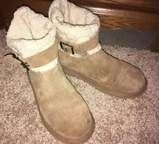 ugg cambridge s boot sale uggs ugg australia cambridge knit suede boots boot chestnut 8