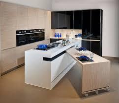 ilot de cuisine avec table amovible table cuisine escamotable tiroir meuble avec newsindo co