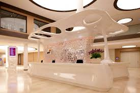 Boss Reception Desk by Lobby Reception Desk In Luxury Design Information Counter