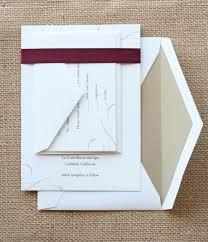 Diy Scroll Invitations Custom Wedding Invitations Simple Elegant Scroll Paper And