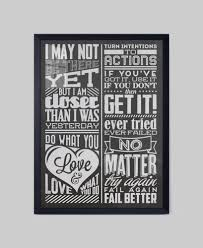 Inspirational Quotes For Home Decor by Ecoart