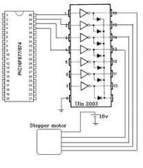 circuit diagram of stepper motor electrónica pinterest