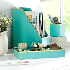 Desk Organizer Sets Unique Desk Organizers Printed Paper Desk Accessories Set Solid