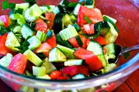supercharged celery tomato salad drjockers com