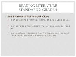themes for my story common core state standards literacy curriculum connection ppt