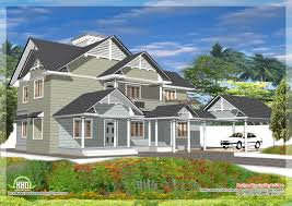 Kerala Home Design Gallery Western Style House Design In Kerala Kerala Home Design And