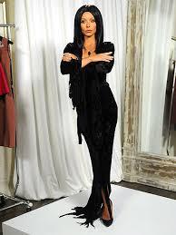 Morticia Addams Dress Tv Land Awards Kelly Ripa Dresses As Morticia Addams Lucille