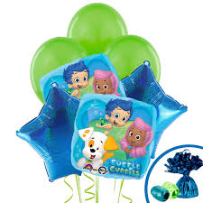 bubble guppies balloon bouquet birthdayexpress com