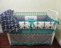 custom nautical baby bedding set catalina baby