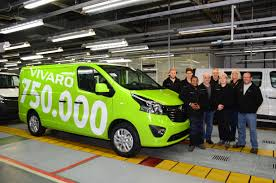 opel vivaro lcv bestseller 750 000th opel vivaro rolls off production line