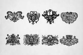 hindu gods spiritual symbols vector vector ornaments