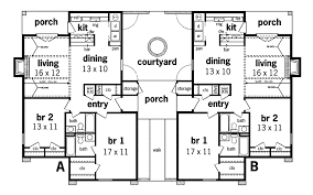 multi unit house plans undefined first floor from houseplansandmore com multi