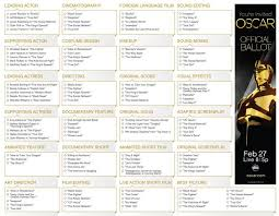 host an oscar tv viewing party free printables tip junkie