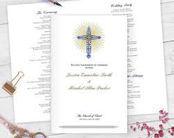 print at home wedding programs catholic wedding programs diy catholic wedding