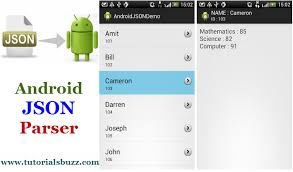 android json android json parser http tutorialsbuzz